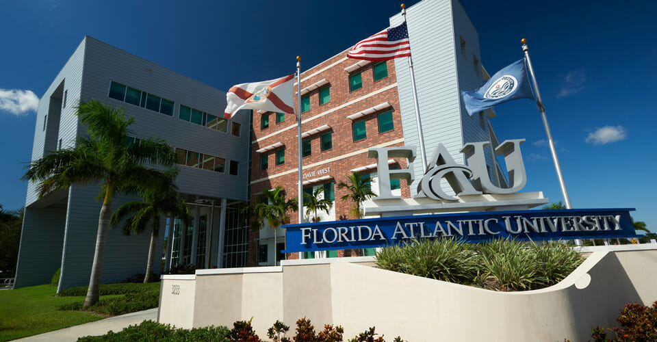Florida Atlantic University - Top 25 Most Affordable Accelerated Master's in Nursing Online for 2018