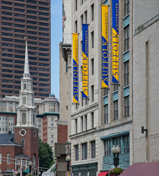 Suffolk University - Top 15 Most Affordable Accelerated Master's in Entrepreneurship for 2018