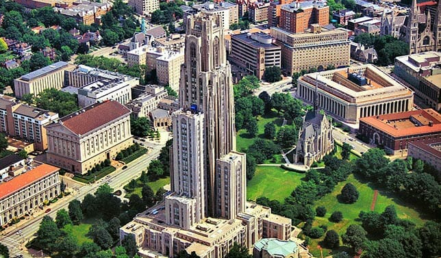 University of Pittsburgh - Top 25 Most Affordable Accelerated Master's in Nursing Online for 2018