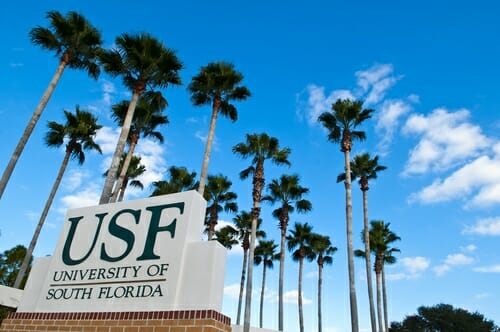University of South Florida - Top 20 Most Affordable Accelerated Master's in Cybersecurity Online for 2018